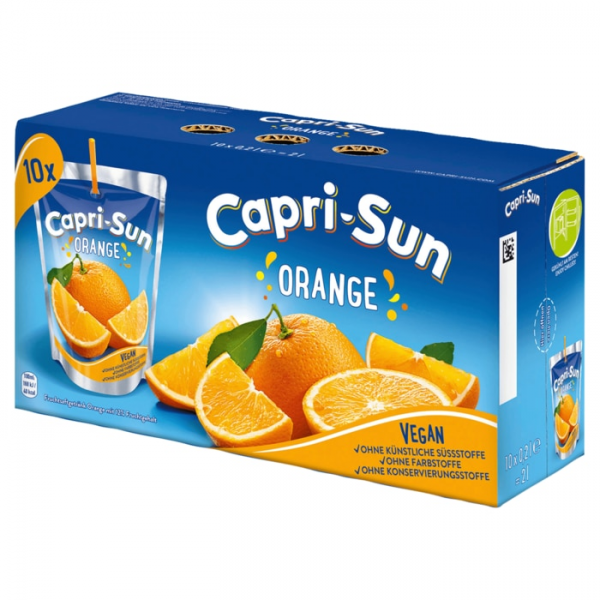 Capri ORANGE 10x0,2L