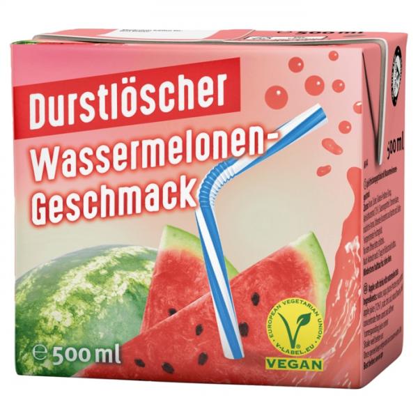 Durstlöscher WASSERMELONE 12x0,5L