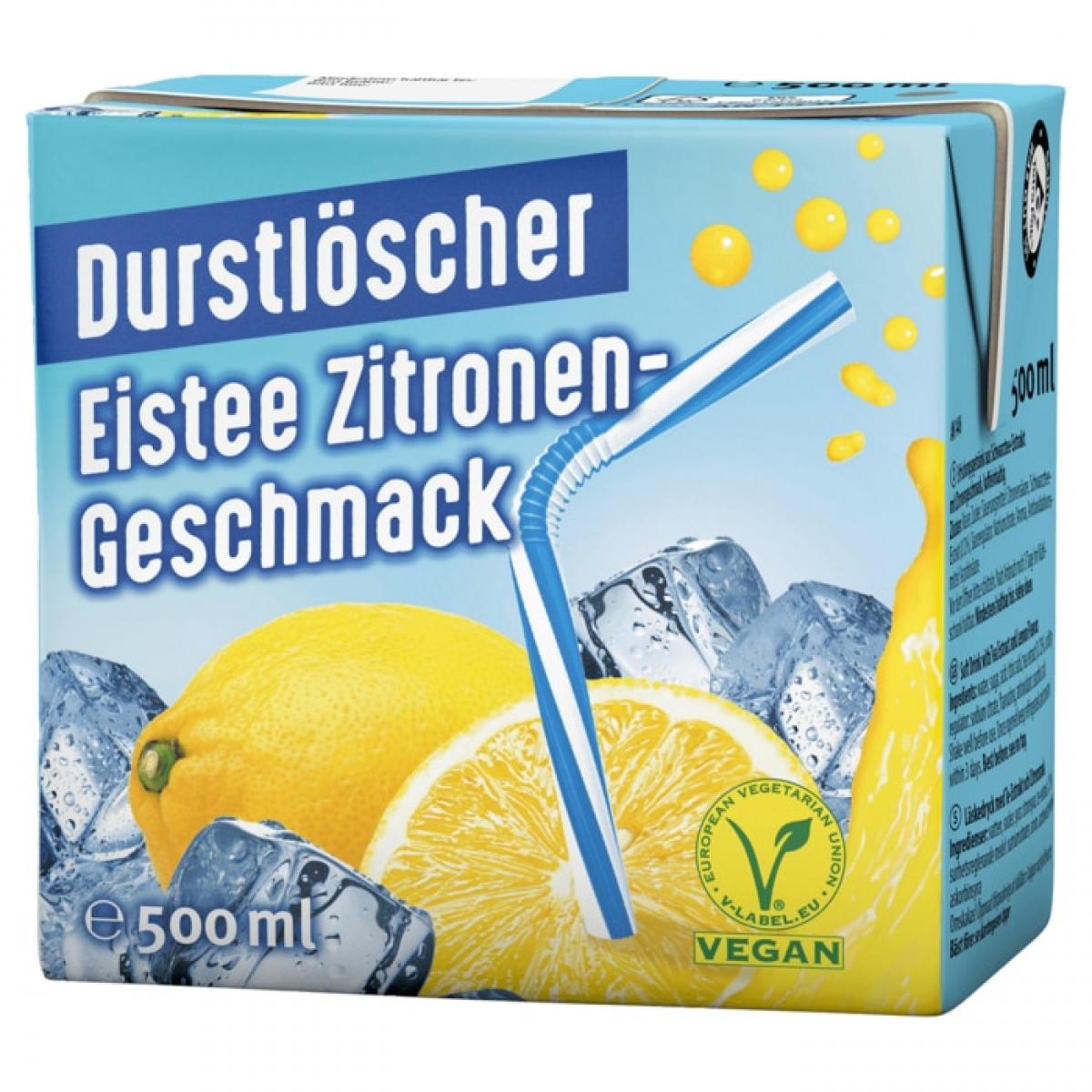 Durstlöscher ZITRONE 12x0,5L