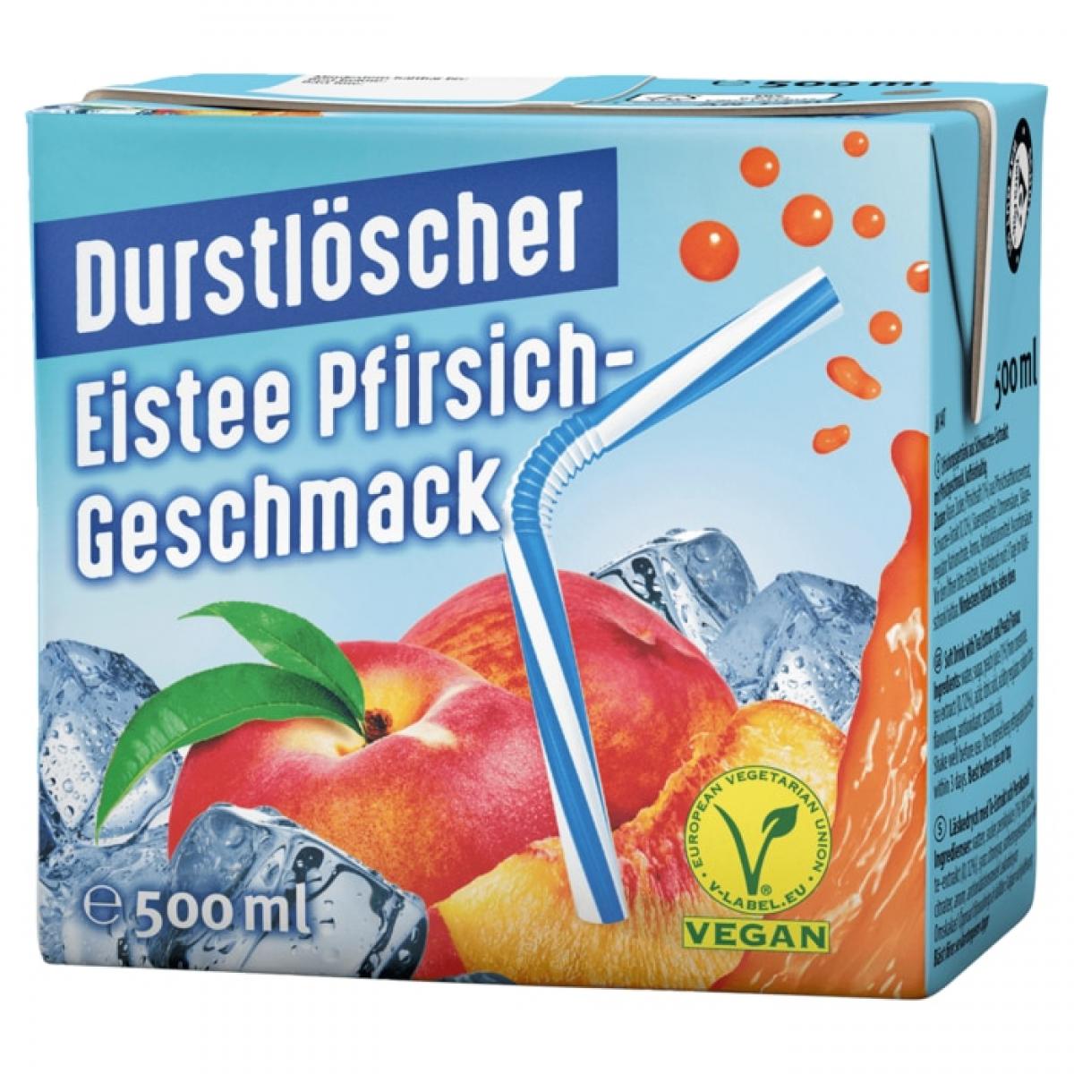 Durstlöscher PEACH 12x0,5L