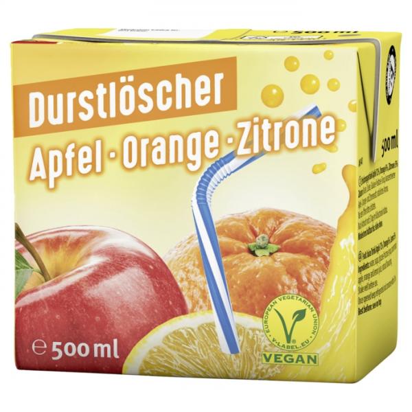 Durstlöscher Apfel-Orange-Zitrone 12x0,5L
