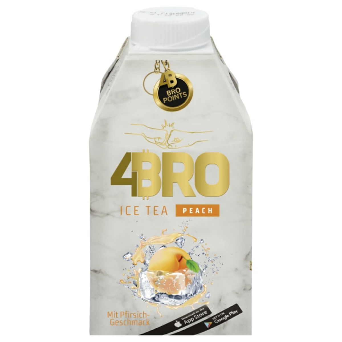 4BRO Ice Tea Peach 8x0,5L