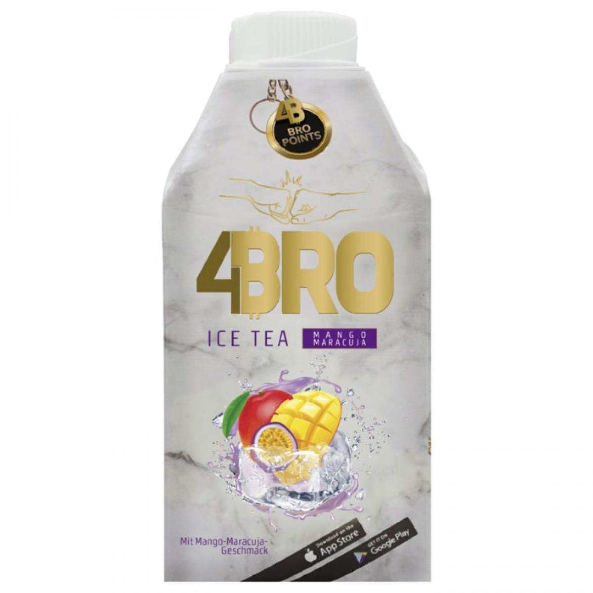 4BRO Ice Tea Mango-Maracuja 8x0,5L