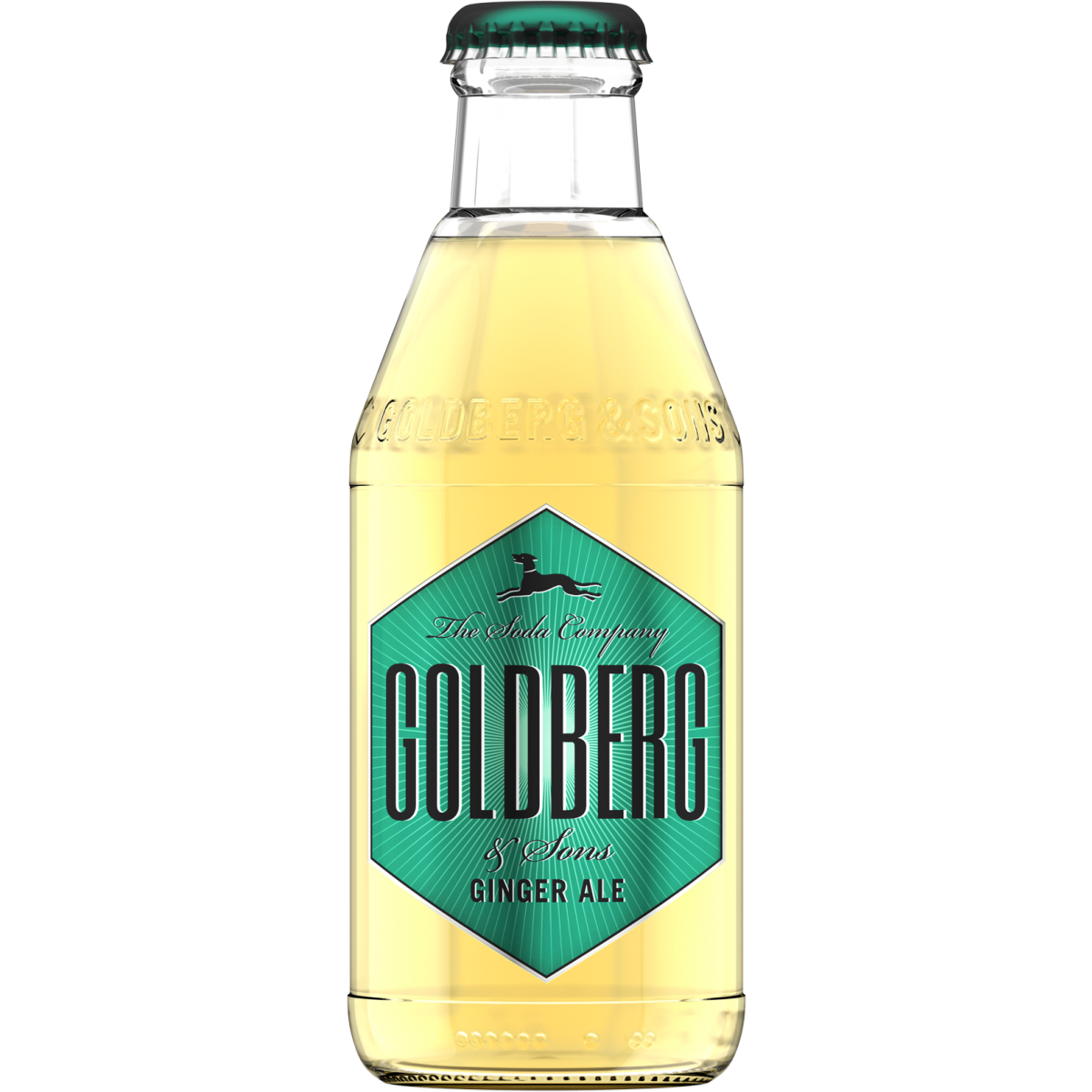GoldBerg Ginger ALE 24x0,2L