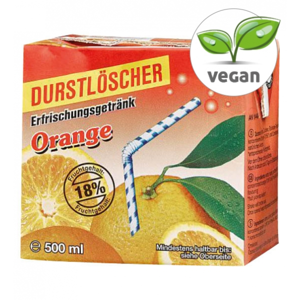 Durstlöscher ORANGE 12x0,5L