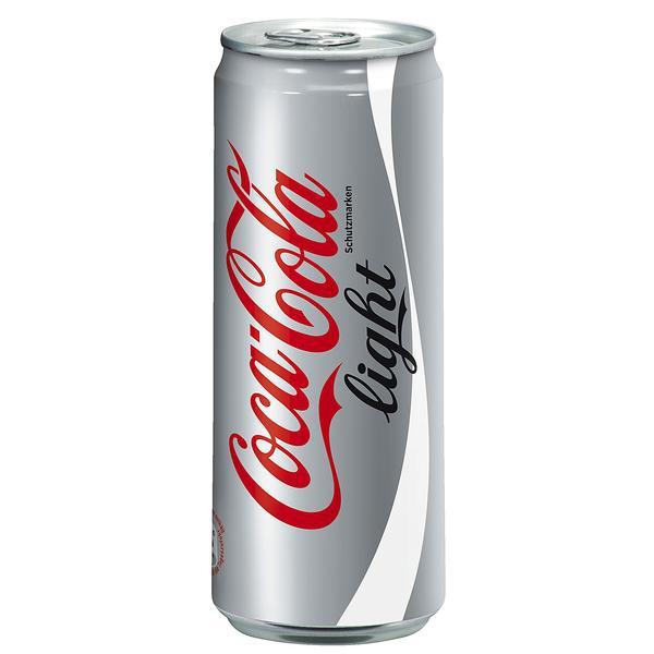Cola Light 24x0,33L Dosen